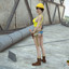 Sexy futa construction worker shows us her biggest tool!