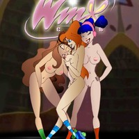 The Winx girls pine for some hard cock up their twats