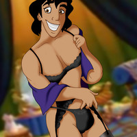Aladdin has a naughty secret!
