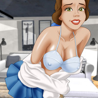 Belle gets naked and plays with herself for you!