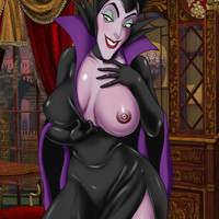 Maleficent is as beautiful as she is naughty!