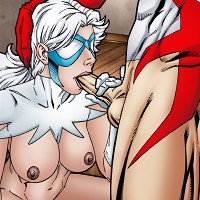 Hawk and Dove in heat fucking hard