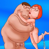 Peter and Lois having romantic kinky sex!